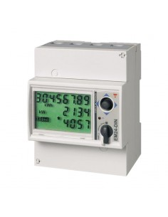 Energy Meter trifase, max 65A/fase
